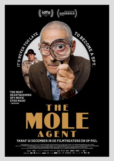 The Mole Agent (29 screens)