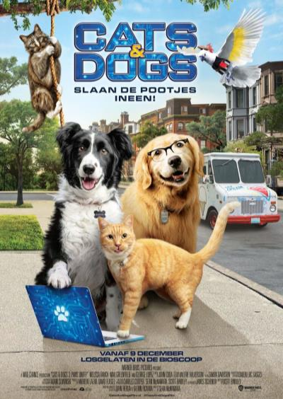 Cats & Dogs: Slaan de pootjes ineen! (127 screens)