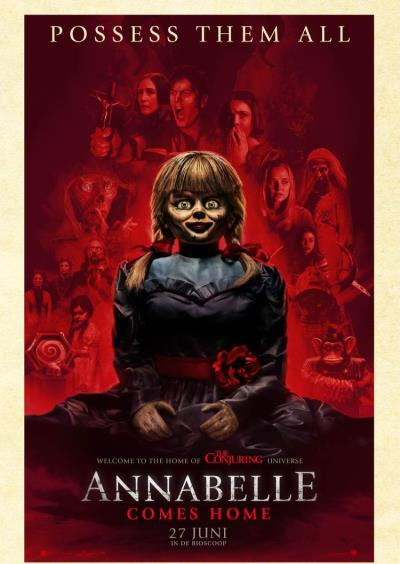 Annabelle Comes Home (90 screens)