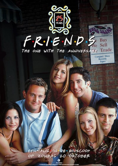 Friends 25: The one with the anniversary (113 screens)