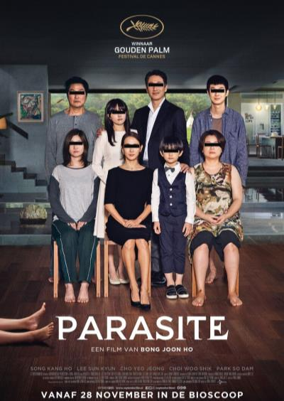 Parasite (black/white) (27 screens)