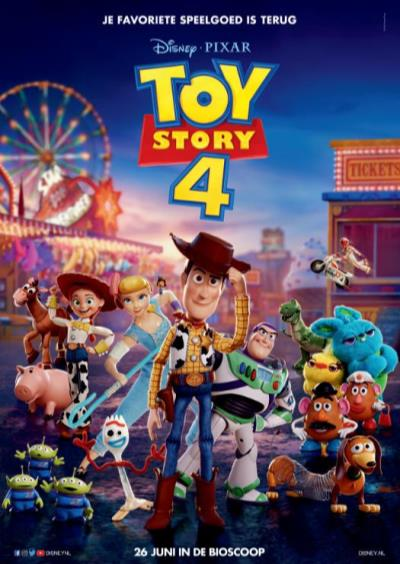 Toy story 4 (NL) (148 screens)