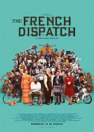 The French Dispatch (65 screens)