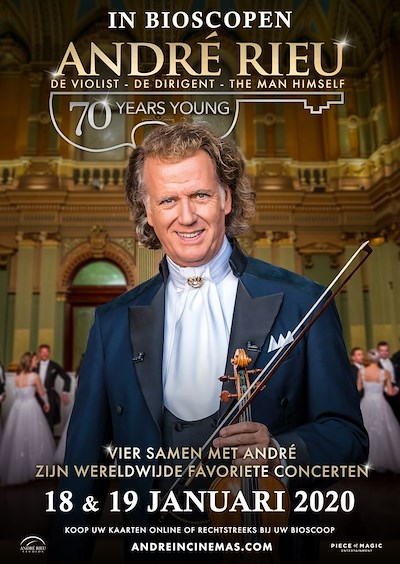 André Rieu: 70 Years Young (111 screens)