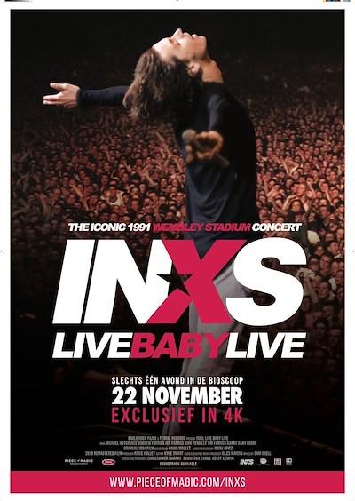 INXS Live Baby Live at Wembley Stadium (49 screens)