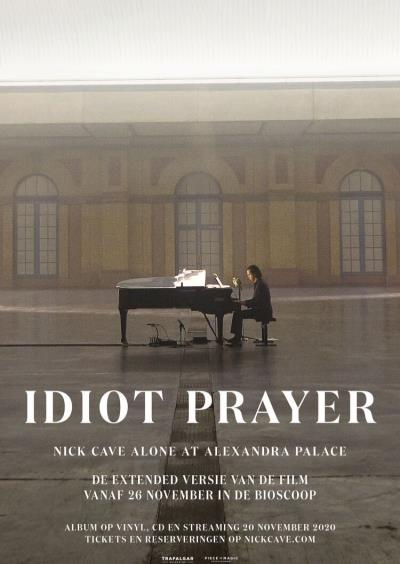 Idiot Prayer – Nick Cave Alone at Alexandra Palace (85 screens)