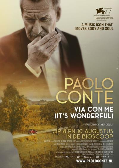 Paolo Conte, It's Wonderful (57 screens)